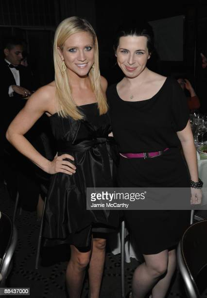Actors Brittany Snow and Heather Matarazzo attend the 8th Annual Jed Foundation Gala at Guastavino's on June 11 2009 in New York City