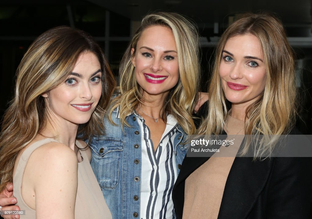 Actors Brooke Lyons, Alyshia Ochse and Bre Blair attend the screening for the CW's 'Life Sentence' at The Downtown Independent on March 7, 2018 in Los Angeles, California.