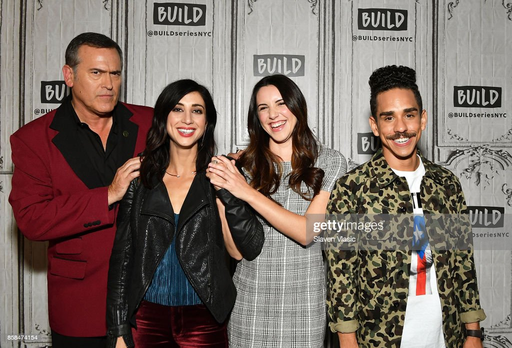 "Build Presents The Cast Of ""Ash Vs Evil Dead"""