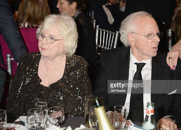 Actors Bruce Dern and June Squibb attend the 19th Annual Critics' Choice Movie Awards at Barker Hangar on January 16 2014 in Santa Monica California