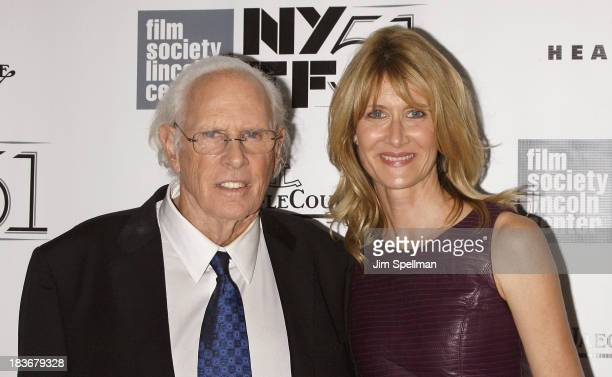 Actors Bruce Dern and Laura Dern attend the Nebraska Premiere during the 51st New York Film Festival at Alice Tully Hall at Lincoln Center on October...