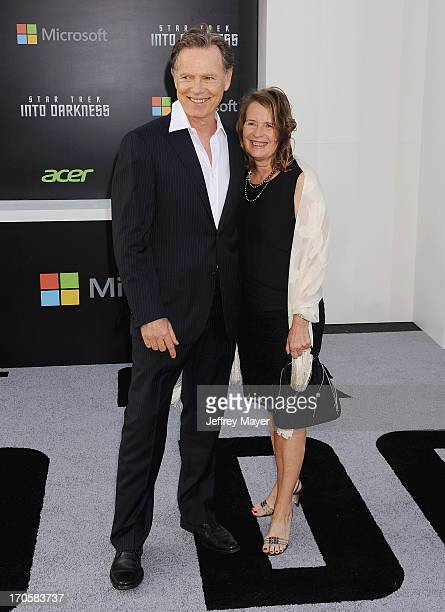 Actors Bruce Greenwood and Susan Devlin arrive at the Los Angeles premiere of 'Star Trek: Into Darkness' at Dolby Theatre on May 14, 2013 in...
