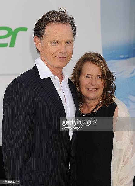 Actors Bruce Greenwood and Susan Devlin arrive at the Los Angeles premiere of 'Star Trek Into Darkness' at Dolby Theatre on May 14 2013 in Hollywood...