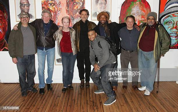 Actors Bruce Kronenberg musican Roger Waters, actors Kathleen Chalfant, Chris Sarandon, JD Williams, Curtis McClarin, Danton Stone and William...