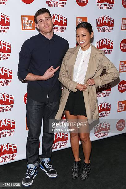 Actors Bryan Greenberg and Jamie Chung arrive for the premiere of It's Already Tomorrow In Hong Kong during the 2015 New York Asian Film Festival...