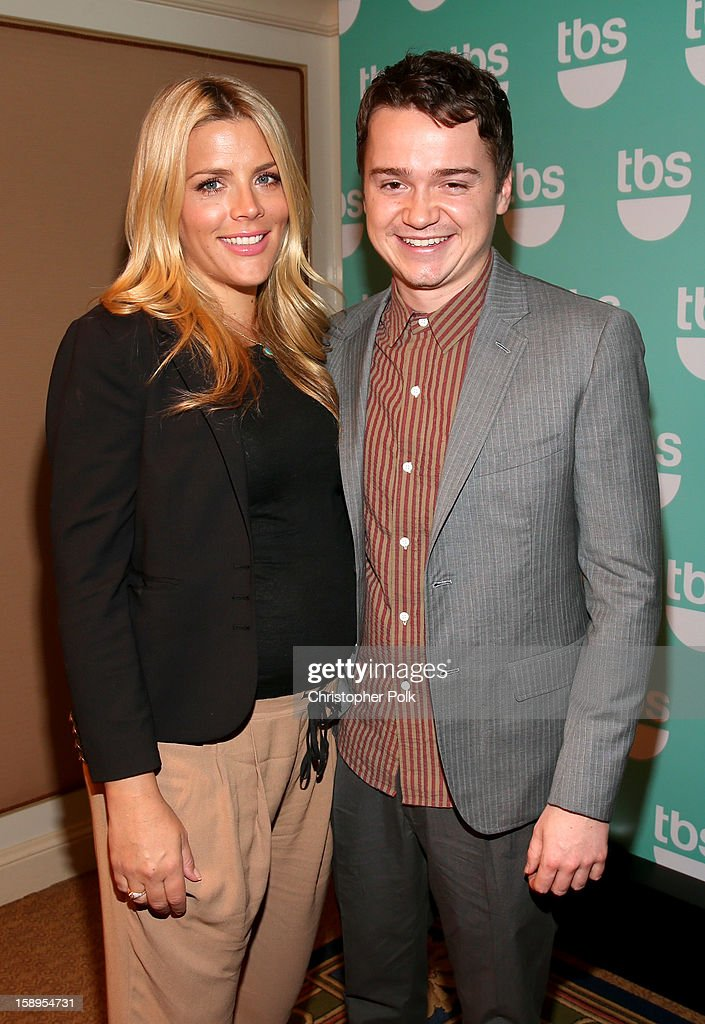Actors Busy Philipps and Dan Byrd attend Turner Broadcasting's 2013 TCA Winter Tour at Langham Hotel on January 4, 2013 in Pasadena, California. 23128_001_CP_0102.JPG