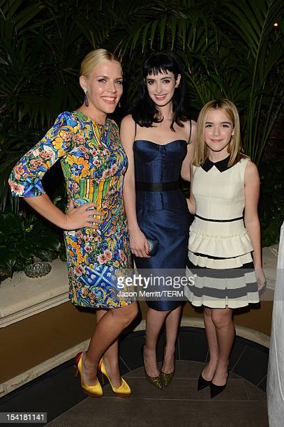 Actors Busy Phillpps Krysten Ritter and Kiernan Shipka attend ELLE's 19th Annual Women In Hollywood Celebration at the Four Seasons Hotel on October...