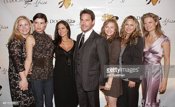 Actors Caitlin Van Zandt Michelle Ray Smith Jessica Leccia Ricky Paull Goldin Bonnie Dennison Crystal Chappell and Nicole Forester arrive at 1st...