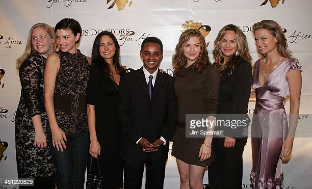 Actors Caitlin Van Zandt Michelle Ray Smith Jessica LecciaUSDFA Founder and CEO Ted Alemayhu Bonnie Dennison Crystal Chappell and Nicole Forester...