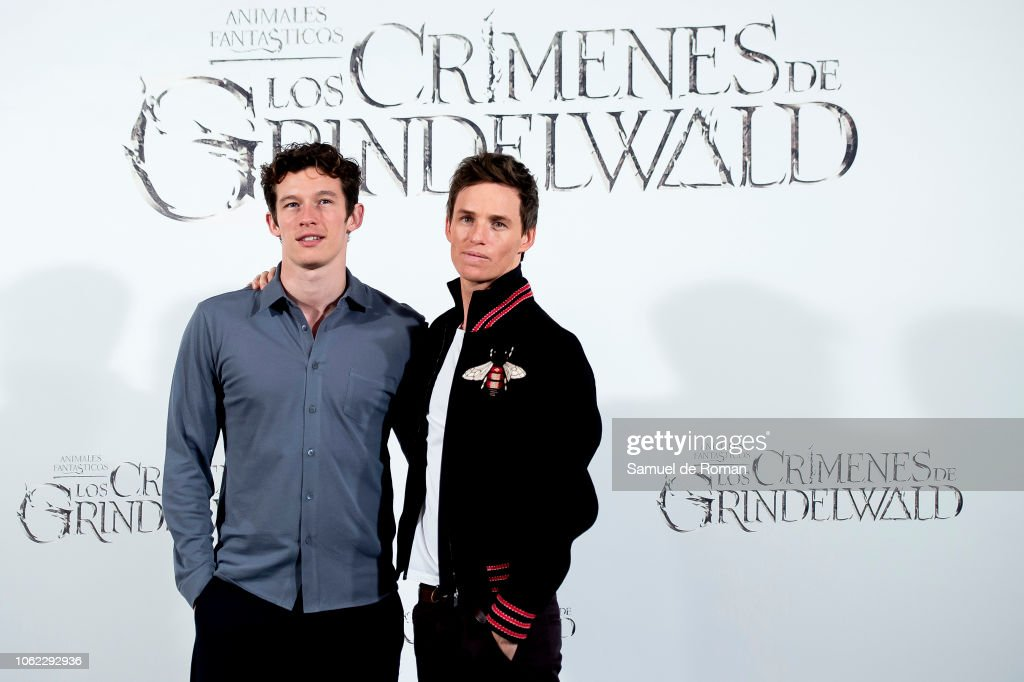 'Animales Fantasticos: Los Crimenes De Grindelwald' Madrid Photocall : News Photo
