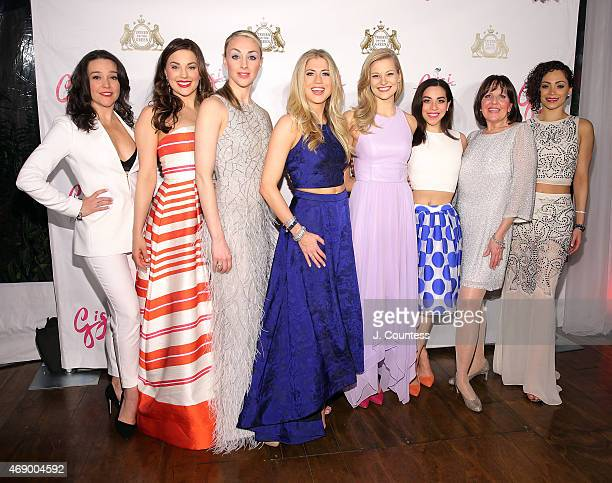 Actors Cameron Adams Alison Jantzie Ashley Yeater Ashley Blair Fitzgerald Kathryn Boswell Hannah Florence Madeleine Doherty and Tanairi Sade Vazquez...