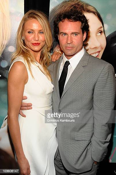 Actors Cameron Diaz and Jason Patric attend the premiere of My Sister's Keeper at the AMC Lincoln Square on June 24 2009 in New York City