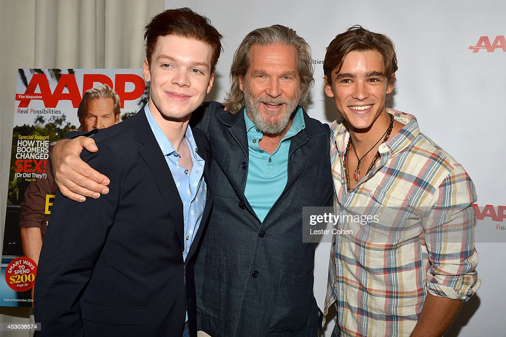 AARP The Magazine - Jeff Bridges Lunch : News Photo