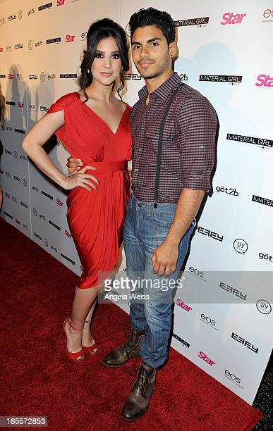 Actors Camila Banus and Marlon Aquino attend Star Magazine's Hollywood Rocks event held at Playhouse Hollywood on April 4 2013 in Los Angeles...