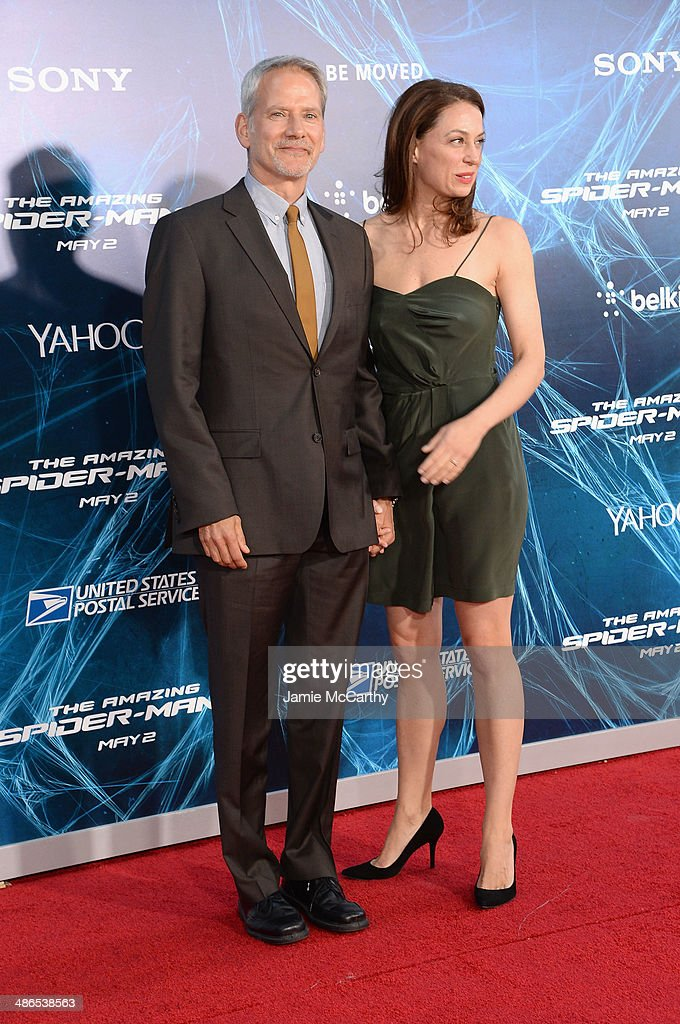 """""""The Amazing Spider-Man 2"""" New York Premiere - Inside Arrivals : News Photo"""
