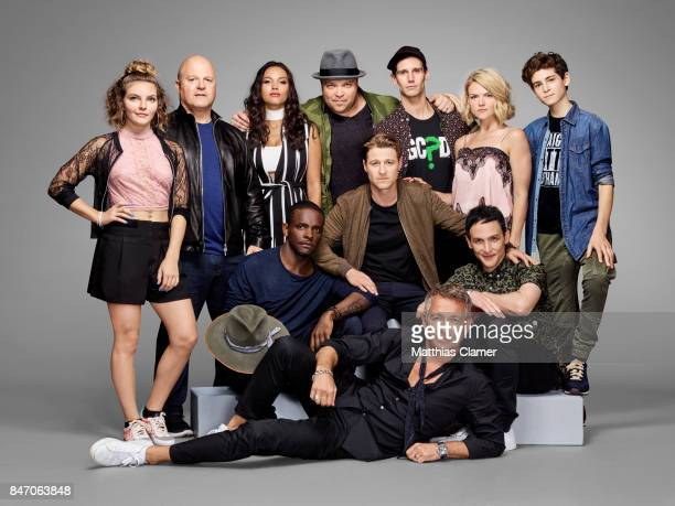 Actors Camren Bicondova Michael Chiklis Jessica Lucas Chris Chalk Drew Powell Benjamin McKenzie Cory Michael Smith Sean Pertwee Erin Richards Robin...