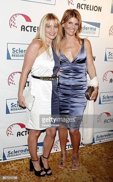 Actors Candace Cameron Bure and Lori Loughlin arrives at Cool Comedy - Hot Cuisine benefiting the Scleroderma Research Foundation at the Beverly...