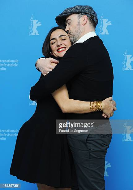 Actors Candela Pena and Javier Camara attend the 'Yesterday Never Ends' Photocall during the 63rd Berlinale International Film Festival at the Grand...
