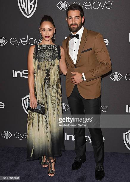 Actors Cara Santana and Jesse Metcalfe arrive at the 18th Annual PostGolden Globes Party hosted by Warner Bros Pictures and InStyle at The Beverly...