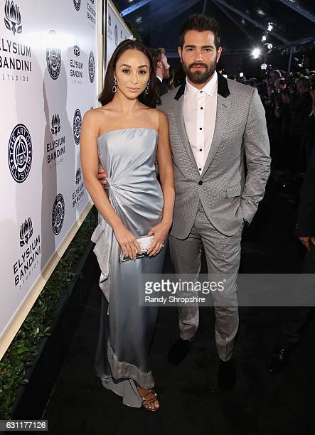 Actors Cara Santana and Jesse Metcalfe attend The Art of Elysium presents Stevie Wonder's HEAVEN Celebrating the 10th Anniversary at Red Studios on...