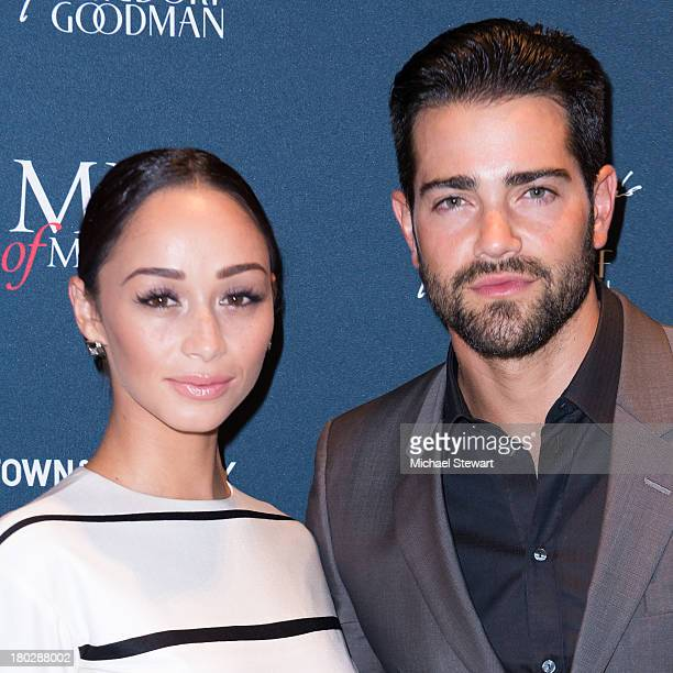 Actors Cara Santana and Jesse Metcalfe attend Town and Country's 2013 Men of Measure at Bergdorf Goodman on September 10 2013 in New York City