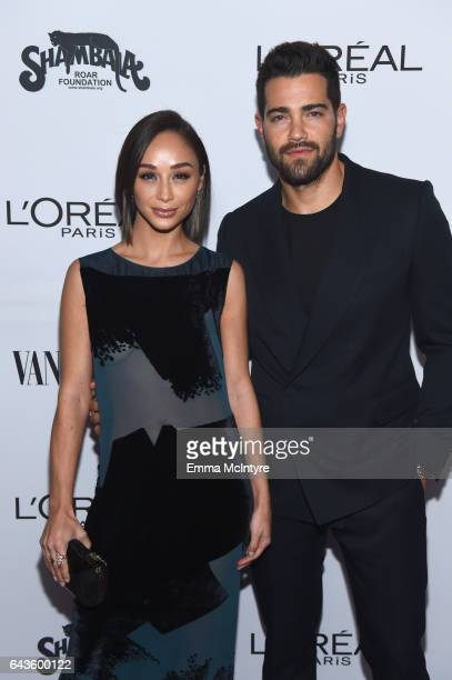 Actors Cara Santana and Jesse Metcalfe attend Vanity Fair and L'Oreal Paris Toast to Young Hollywood hosted by Dakota Johnson and Krista Smith at...