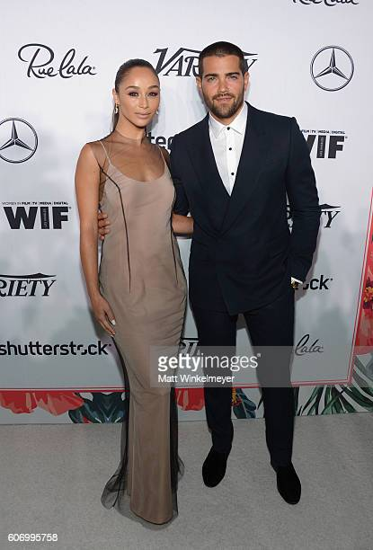 Actors Cara Santana and Jesse Metcalfe attend Variety and Women in Film's Pre-Emmy Celebration at Gracias Madre on September 16, 2016 in West...