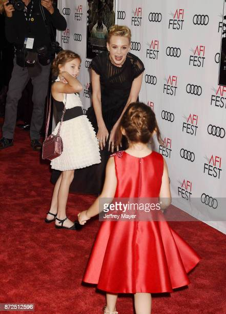 Actors Carey Mulligan Elizabeth Windley and Piper Blair attend the screening of Netflix's 'Mudbound' at the Opening Night Gala of AFI FEST 2017...