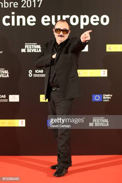 Actors Carlos Areces attend the ALGO MUY GORDO photocall at the European film Festival of Seville on November 4 2017 in Seville Spain