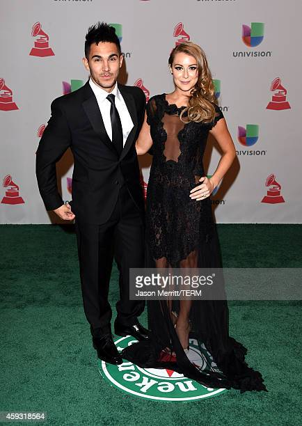 Actors Carlos PenaVega and Alexa PenaVega attend the 15th Annual Latin GRAMMY Awards at the MGM Grand Garden Arena on November 20 2014 in Las Vegas...