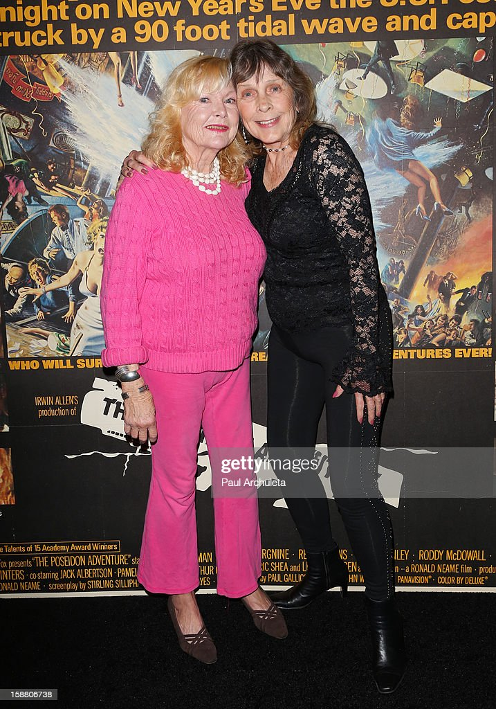 Actors Carol Lynley (L) and Stella Stevens attend the screening for the 40th Anniversary of 'The Poseidon Adventure' at the American Cinematheque's Egyptian Theatre on December 29, 2012 in Hollywood, California.