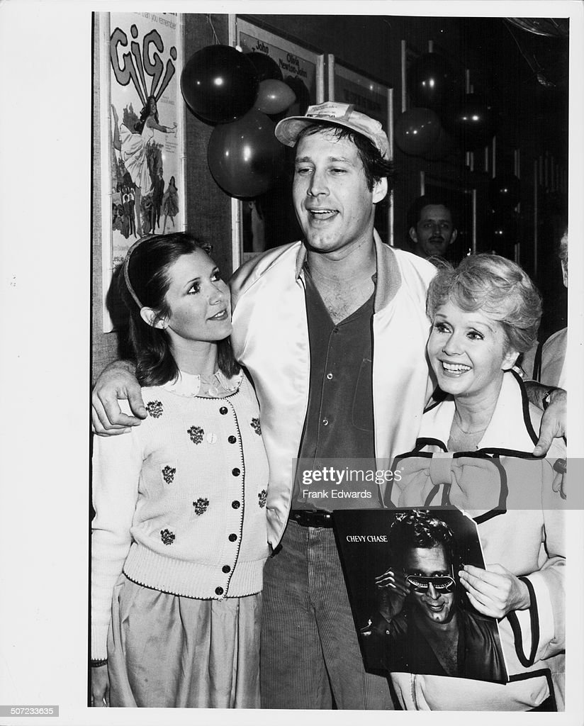 Carrie Fisher, Chevy Chase And Debbie Reynolds Pictures   Getty Images
