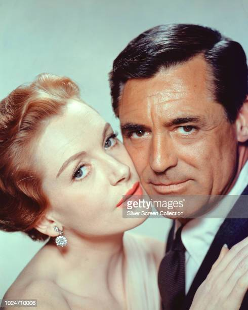 Actors Cary Grant and Deborah Kerr in a publicity still for the film 'An Affair to Remember', 1957.