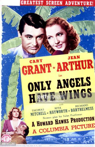 Actors Cary Grant as Geoff Carter Jean Arthur as Bonnie Lee and Rita Hayworth as Judy MacPherson on a poster for the Columbia Pictures film 'Only...