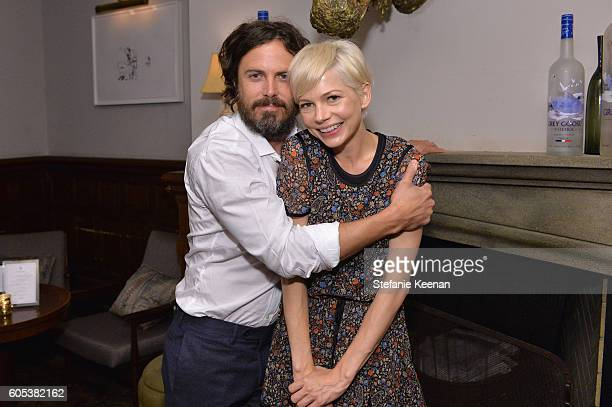 Actors Casey Affleck and Michelle Williams at the Manchester By The Sea TIFF party hosted by GREY GOOSE Vodka and Soho House Toronto on September 13...