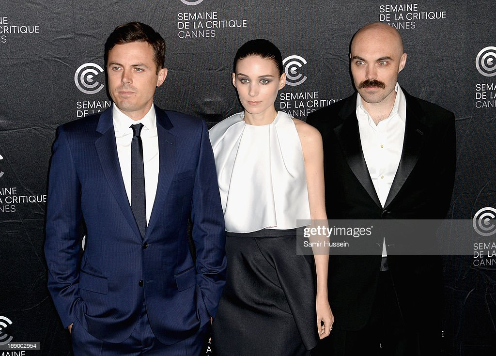 Actors Casey Affleck, Rooney Mara and writer/director David Lowery poses during the 'Ain't Them Bodies Saints' Photocall during The 66th Annual Cannes Film Festival at the Palais des Festivals on May 18, 2013 in Cannes, France.