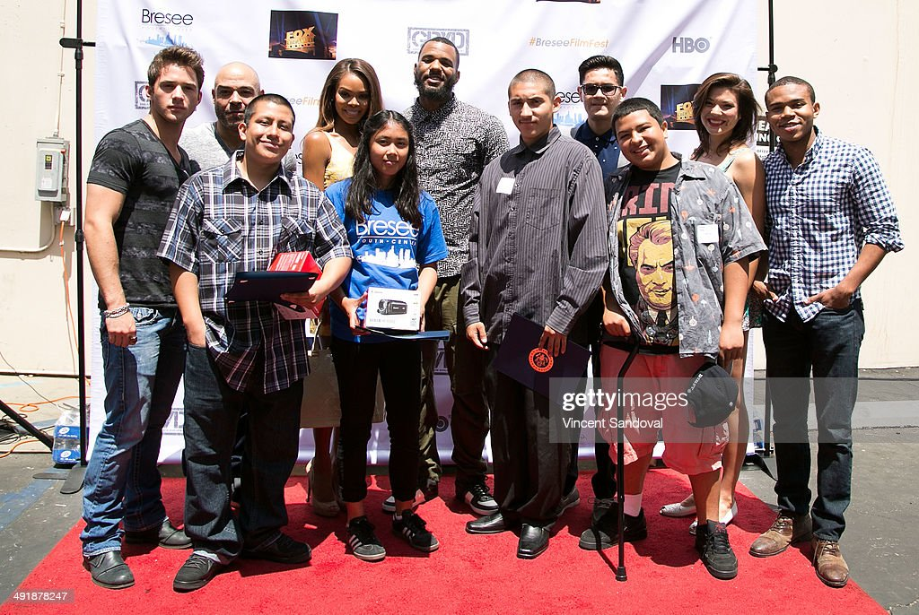 The Game Hosts Bresee Foundation 9th Annual Youth Film Festival On Social Justice : News Photo