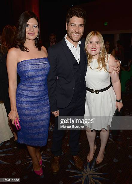 Actors Casey Wilson Adam Pally and Daniella Liben attend Broadcast Television Journalists Association's third annual Critics' Choice Television...