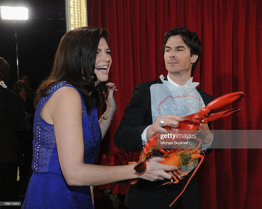 39th Annual People's Choice Awards - Backstage And Audience : News Photo