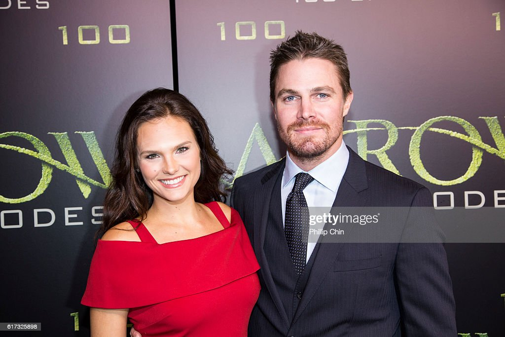 """Celebration Of 100th Episode Of CW's """"Arrow"""" : News Photo"""