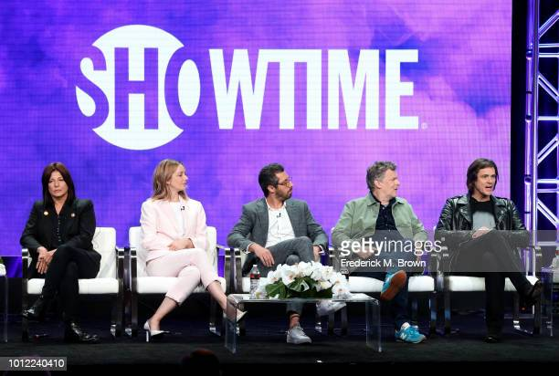 Actors Catherine Keener Judy Greer executive producer/writer Dave Holstein executive producer/director Michel Gondry and executive producer/actor Jim...