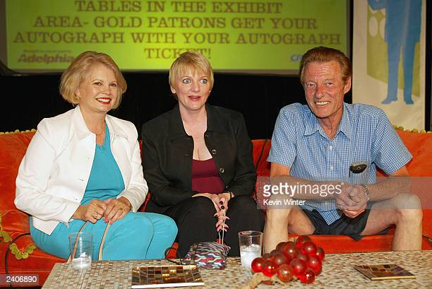 Actors Cathy Garver Alison Arngrim and Ken Osmond appear at the First Official TV Land Convention at the Burbank Airport Hilton on August 17 2003 in...