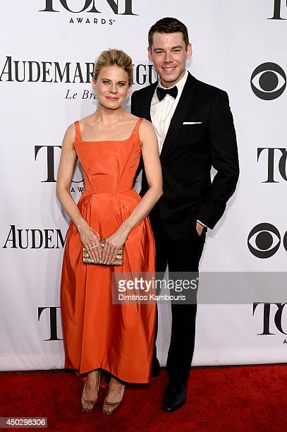 Actors Celia KeenanBolger and Brian J Smith attend the 68th Annual Tony Awards at Radio City Music Hall on June 8 2014 in New York City