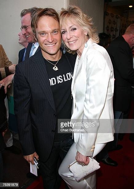 Actors Chad Allen and Judith Light attend the opening night gala of OUTFEST 2007 at the Orpheum Theater on July 12 2007 in Los Angeles California