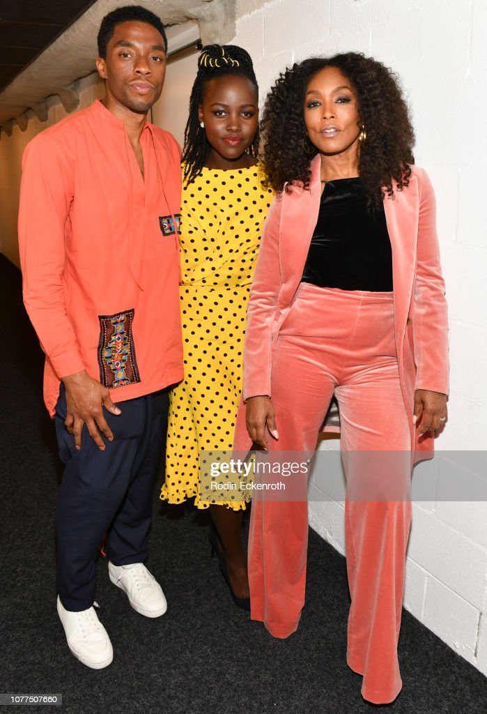 "Hammer Museum Los Angeles Presents MoMA Contenders 2018 Screening And Q&A Of ""Black Panther"" : News Photo"