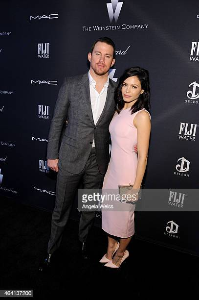 Actors Channing Tatum and Jenna Dewan attend The Weinstein Company's Academy Awards Nominees Dinner in partnership with Chopard, DeLeon Tequila, FIJI...