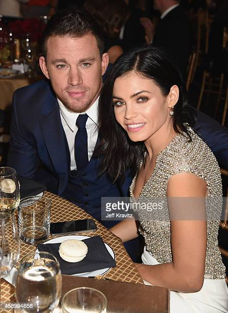 Actors Channing Tatum and Jenna Dewan Tatum attend the 18th Annual Hollywood Film Awards at The Palladium on November 14, 2014 in Hollywood,...