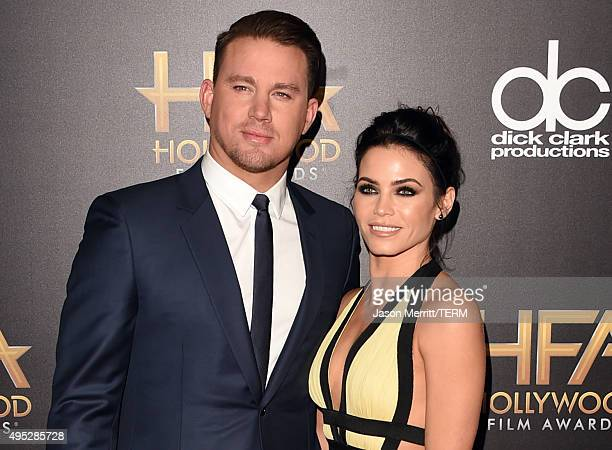 Actors Channing Tatum and Jenna Dewan Tatum attend the 19th Annual Hollywood Film Awards at The Beverly Hilton Hotel on November 1, 2015 in Beverly...