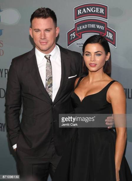 Actors Channing Tatum and Jenna Dewan Tatum attend the HBO And Army Ranger Lead The Way Fund Present The Premiere Of 'War Dog A Soldier's Best...