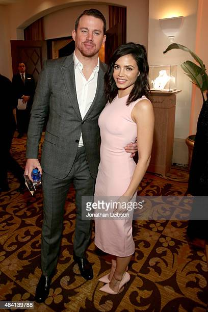 Actors Channing Tatum and Jenna Dewan Tatum attend The Weinstein Company's Academy Awards Nominees Dinner in partnership with Chopard, DeLeon...